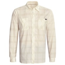 Quiksilver Jacob Shirt - Long Sleeve (For Men) in Khaki - Closeouts