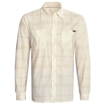 Quiksilver Jacob Shirt - Long Sleeve (For Men) in Khaki