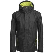 Quiksilver Last Mission 5K Shell Jacket (For Men) in Black - Closeouts