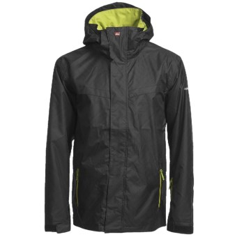 Quiksilver Last Mission 5K Shell Jacket (For Men) in Black
