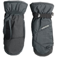 Quiksilver Mission Touchscreen-Compatible Mittens - Waterproof, Insulated (For Men) in Black - Closeouts