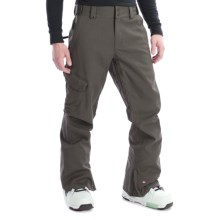 Quiksilver Mix Up Shell Snow Pants (For Men) in Dark Army Green - Closeouts
