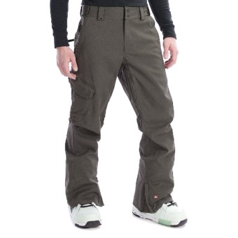 Quiksilver Mix Up Shell Snow Pants (For Men) in Dark Army Green