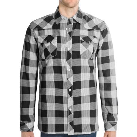 Quiksilver Notorious Shirt - Long Sleeve (For Men) in Black