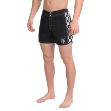 "Quiksilver Original Arch Boardshorts - 15"" (For Men) in Anthracite - Closeouts"
