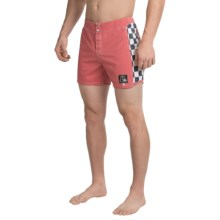 "Quiksilver Original Arch Boardshorts - 15"" (For Men) in Garnet Rose - Closeouts"