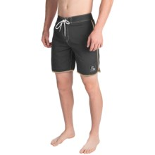 Quiksilver Original Scallop Boardshorts (For Men) in Anthracite - Closeouts