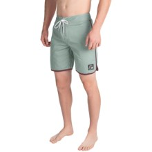 Quiksilver Original Scallop Boardshorts (For Men) in Blue Surf - Closeouts