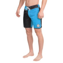 "Quiksilver Original Scallop Jester Boardshorts - 18"" (For Men) in Hawaiian Ocean - Closeouts"