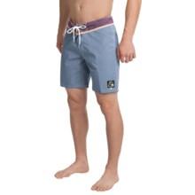 """Quiksilver Original Yoke Boardshorts - 18"""" (For Men) in China Blue - Closeouts"""
