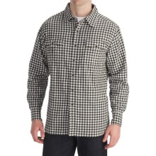 Quiksilver Prospect Ave Plaid Shirt - Long Sleeve (For Men) in Dark Brown - Closeouts