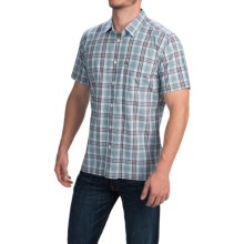 Quiksilver Rapmaster Shirt - Short Sleeve (For Men) in Angel Falls - Closeouts
