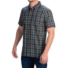 Quiksilver Rapmaster Shirt - Short Sleeve (For Men) in Black - Closeouts