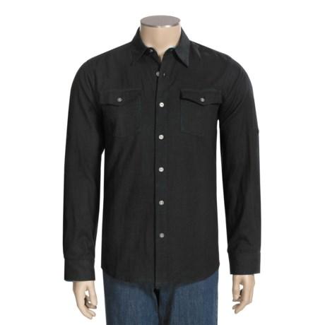 Quiksilver Rondalino Shirt - Long Sleeve (For Men) in Dark Charcoal