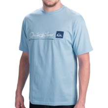 Quiksilver Standard T-Shirt - Short Sleeve (For Men) in Air Blue - Closeouts