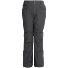 Quiksilver State Snowboard Pants - Waterproof, Insulated (For Big Boys) in Black - Closeouts