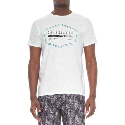 Quiksilver Strand T-Shirt - Short Sleeve (For Men) in White - Closeouts