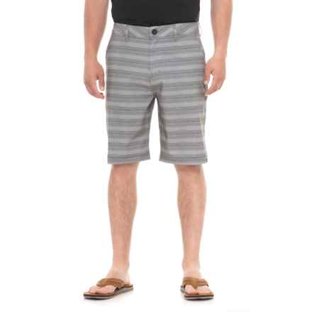 Quiksilver Stripe Amphibian Shorts (For Men) in Castle Rock - Closeouts
