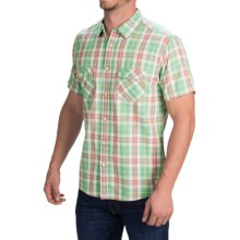 Quiksilver Tantiv Shirt - Short Sleeve (For Men) in Beryl Green - Closeouts