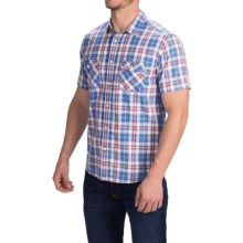 Quiksilver Tantiv Shirt - Short Sleeve (For Men) in Olympian Blue - Closeouts
