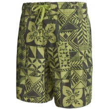 Quiksilver Tapama Volley Shorts (For Men) in Green - Closeouts