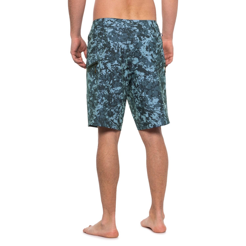 "50ff093bfe ... Black HD727_2 Quiksilver Waterman Waterman Paddlers Boardshorts - 20""  (For Men)"