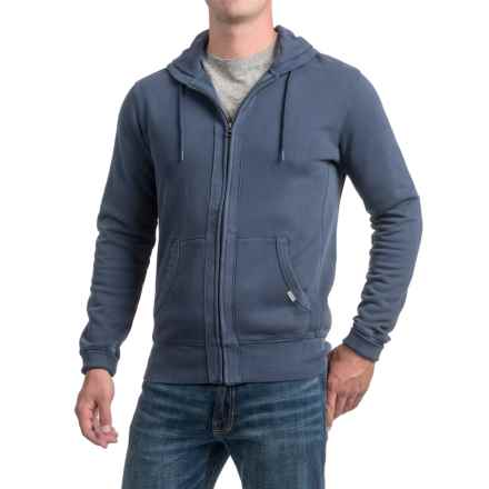 Quiksilver Zip-Up Hoodie (For Men) in Blue - Closeouts