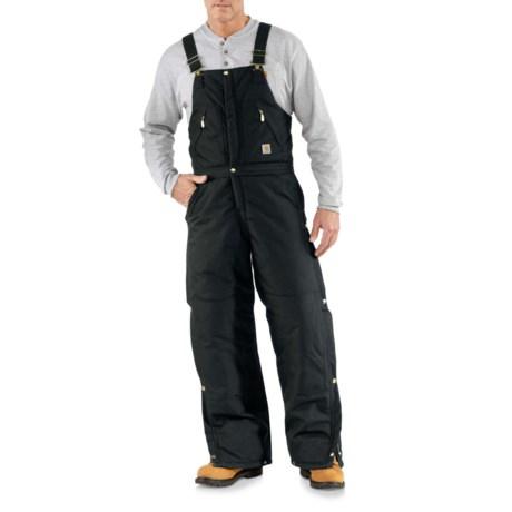 R33 Yukon Zip-to-Waist Bib Overalls - Arctic Insulation, Factory Seconds (For Men) - BLACK ( )