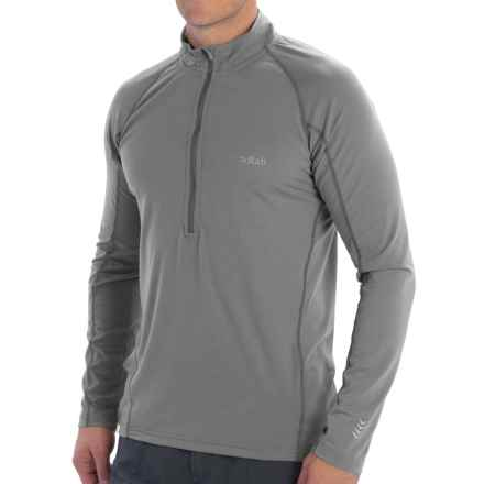 Rab Aeon Plus Pullover Shirt - UPF 30+, Neck Zip, Long Sleeve (For Men) in Gargoyle - Closeouts