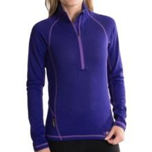 Rab AL Polartec® Power Dry® Shirt- Zip Neck, Long Sleeve (For Women) in Ultramarine - Closeouts