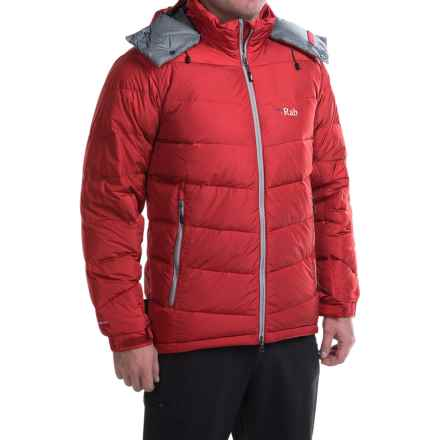 Rab Ascent Down Jacket - 650 Fill Power (For Men) in Cayenne - Closeouts