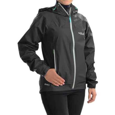 Rab Atmos Jacket - Waterproof (For Women) in Beluga - Closeouts