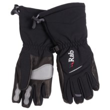Rab Baltoro PrimaLoft® Gloves - Insulated (For Women) in Bl Black - Closeouts