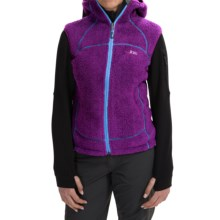 Rab Boulder Vest - Polartec® Thermal Pro® Fleece, Hooded (For Women) in Lupin - Closeouts