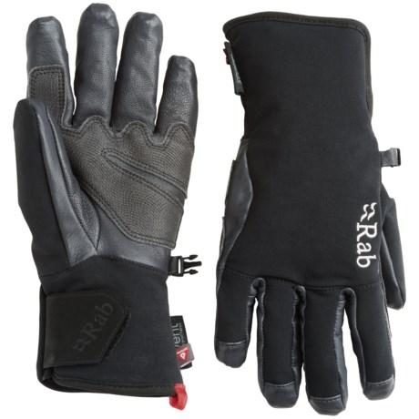 Rab Cascade Climbing Gloves - Waterproof, Insulated (For Men)