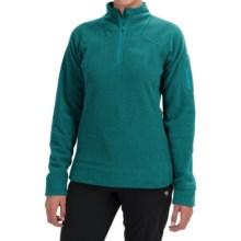 Rab Eclipse Fleece Pullover Jacket - Zip Neck (For Women) in Tasman - Closeouts