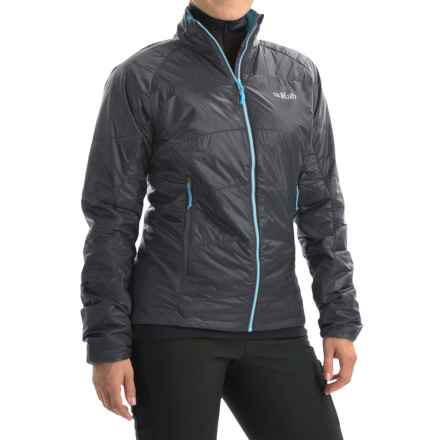 Rab Ether X PrimaLoft® Jacket - Insulated (For Women) in Ebony/Gargoyle - Closeouts