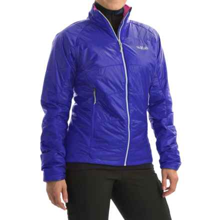 Rab Ether X PrimaLoft® Jacket - Insulated (For Women) in Electric/Fuschia - Closeouts