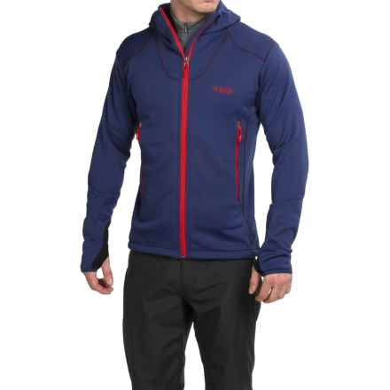 Rab Exile Polartec® Wind Pro® Fleece Jacket (For Men) in Indigo/Smoke - Closeouts