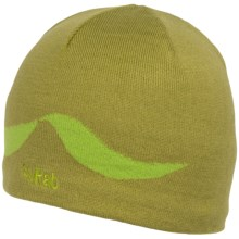 Rab Feather Knit Beanie (For Men) in Lime - Closeouts
