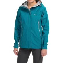 Rab Fjord Jacket - Waterproof (For Women) in Solid Fjord - Closeouts