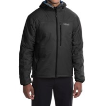 Rab Generator X Jacket - Insulated (For Men) in Black / Denim - Closeouts