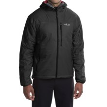 Rab Generator X Jacket - Insulated (For Men) in Black / Red - Closeouts