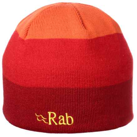 Rab Gradient Knit Beanie (For Men) in Red - Closeouts