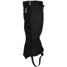 Rab Hispar Gaiters - Waterproof (For Men And Women) in Black - Closeouts
