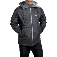 Rab Inferno Hooded Jacket - Insulated (For Men) in Ebony - Closeouts