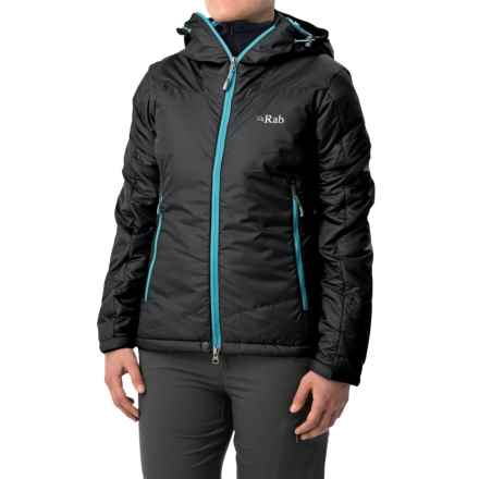 Rab Inferno Hooded Jacket - Insulated (For Women) in Ebony - Closeouts