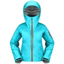 Rab Kickturn Ski Jacket - Waterproof (For Women) in Lagoon - Closeouts