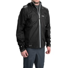 Rab Kinetic Jacket - Waterproof (For Men) in Black - Closeouts