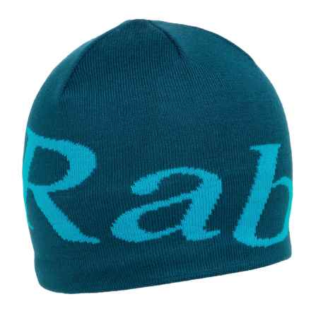 Rab Logo Beanie Hat (For Men) in Fjord - Closeouts